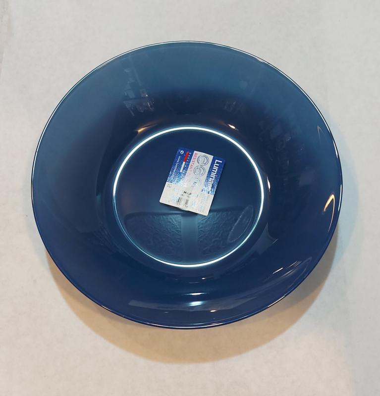 Luminarc Arty mély tányér 20 cm, Marine (tengerkék), P1117