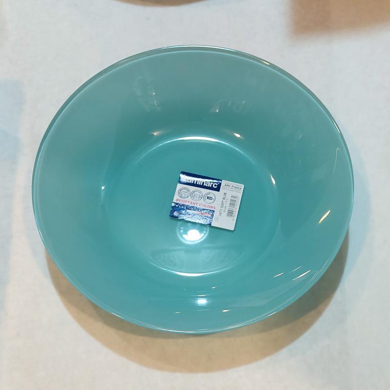 Luminarc Arty mély tányér 20 cm, Soft Blue (világoskék), L1124