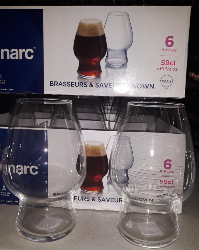 Luminarc Brasseurs&Saveurs; brown sörös pohár, 59 cl, 6 db
