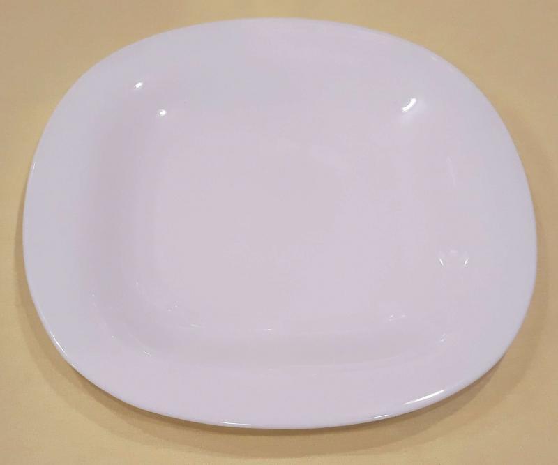 LUMINARC CARINE fehér lapos tányér 26,5 cm, 1db