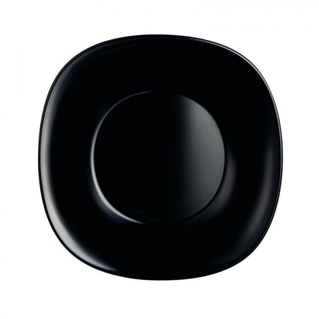 LUMINARC CARINE fekete mély tányér 21 cm, 1db