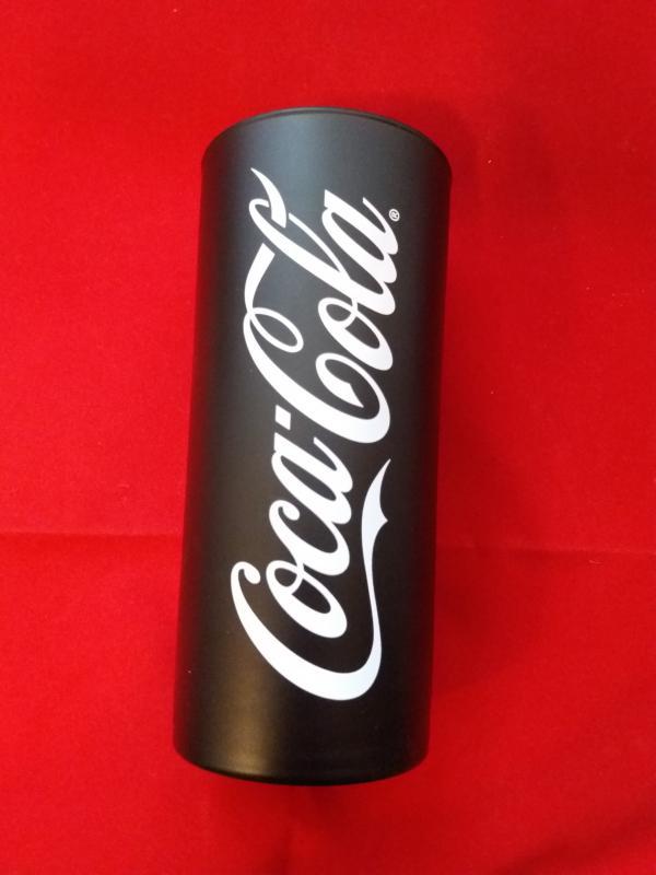 Luminarc Coca Cola Frozen fekete üdítős pohár, 27 cl, 502215