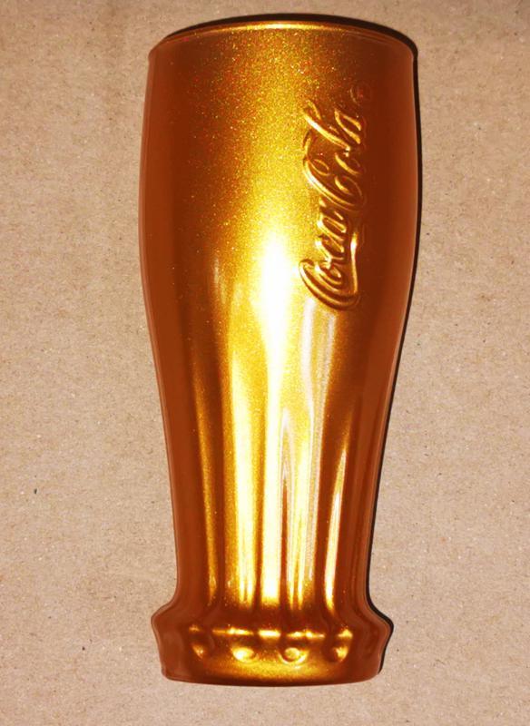Luminarc coca cola üdítős pohár, gold, 35 cl, 1 db
