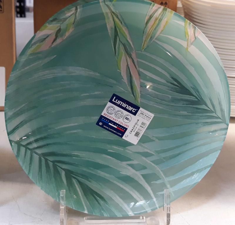Luminarc CRAZIFOLIA desszert tányér, 20,5cm, üveg, 1db
