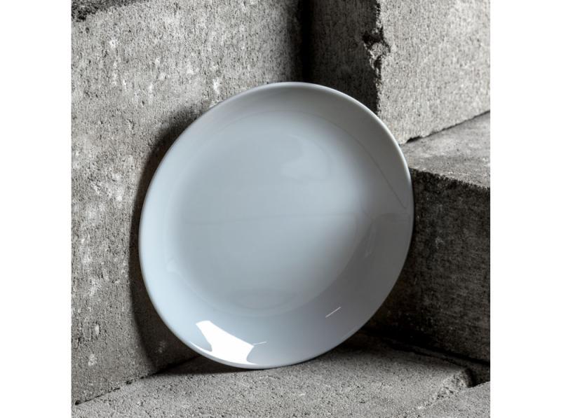 Luminarc Diwali Granit (szürke) desszert üveg tányér, 19 cm, 1 db