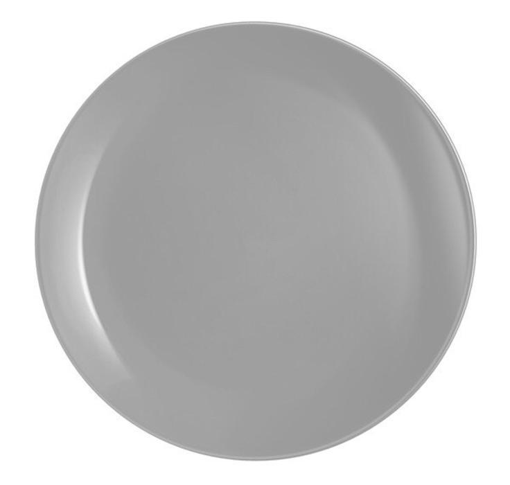 Luminarc Diwali Granit (szürke) lapos tányér, 27 cm, 1 db,