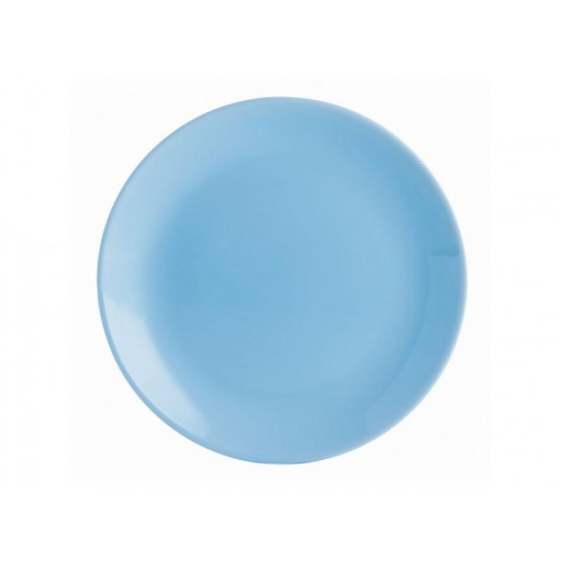 Luminarc DIWALI LIGHT BLUE (v.kék) desszert üveg tányér 19 cm, 1 db