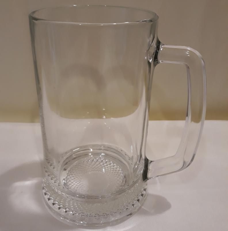 LUMINARC DRESDEN söröskorsó, mértékjeles, 50 cl, 2 db, 510004