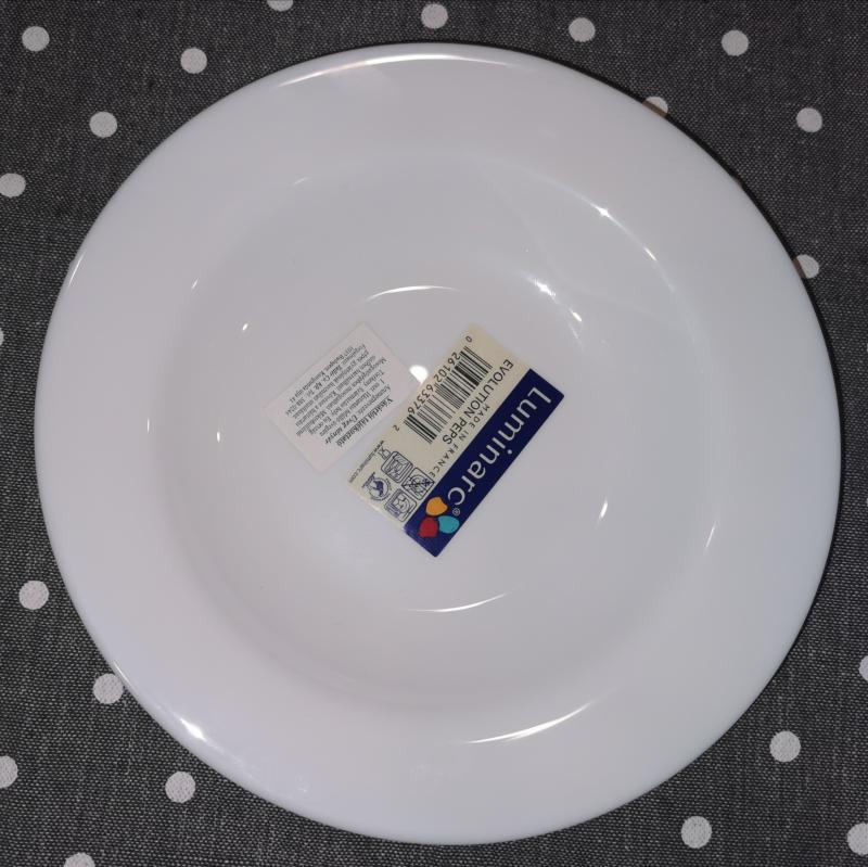 Luminarc Evolution mély tányér, 22 cm, 502257