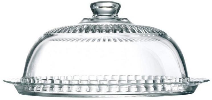 LUMINARC Fromage tortatál/sajttál (32 cm) + búra (26 cm), 500461