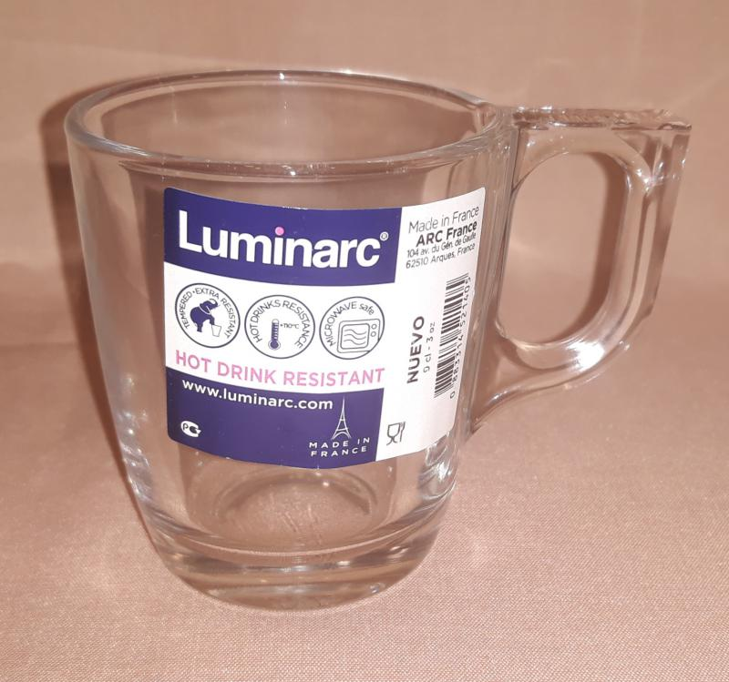 Luminarc Nuevo kávés csésze, 9 cl, 503003