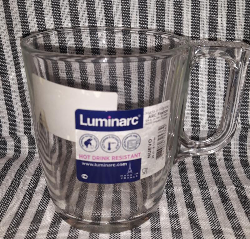 Luminarc Nuevo trans. bögre, 25 cl, 501012