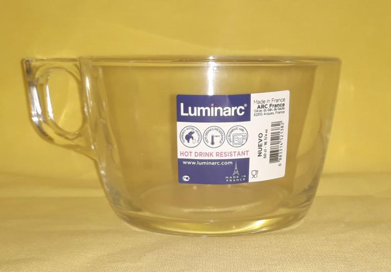 Luminarc Nuevo trans. jumbo bögre, 50 cl, 500059