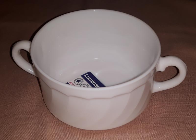 Luminarc Opál leveses füles csésze, 14,5 cm, 30 cl, 500016