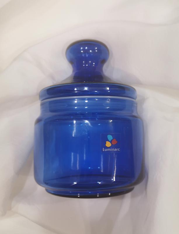 LUMINARC Pot Club tároló üveg, saphir, 0,5 liter, 500050