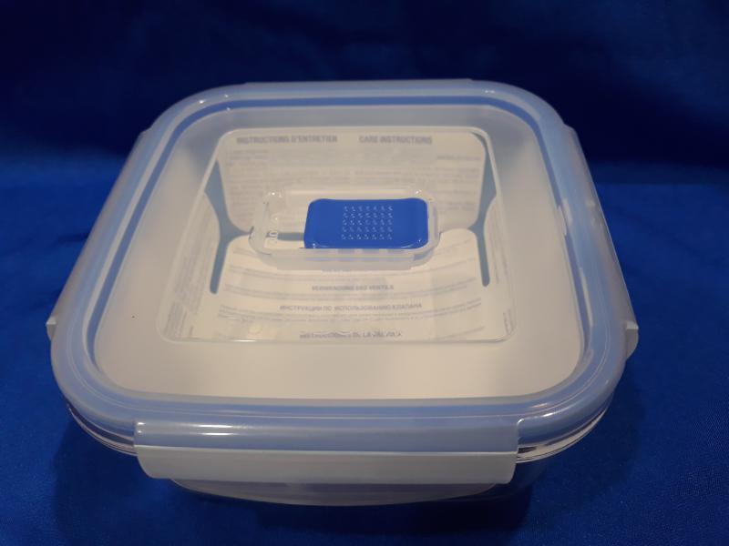 LUMINARC PURE BOX szögl.doboz, 76 cl,15X15X6,8 cm, 501044