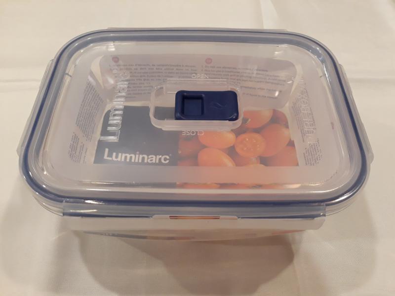 LUMINARC PURE BOX tégl.doboz, 18,5X13,5X6,8 cm, 82 cl, 501084