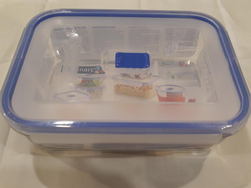 LUMINARC PURE BOX tégl.doboz, 24X18X8 cm, 197 cl, 501069