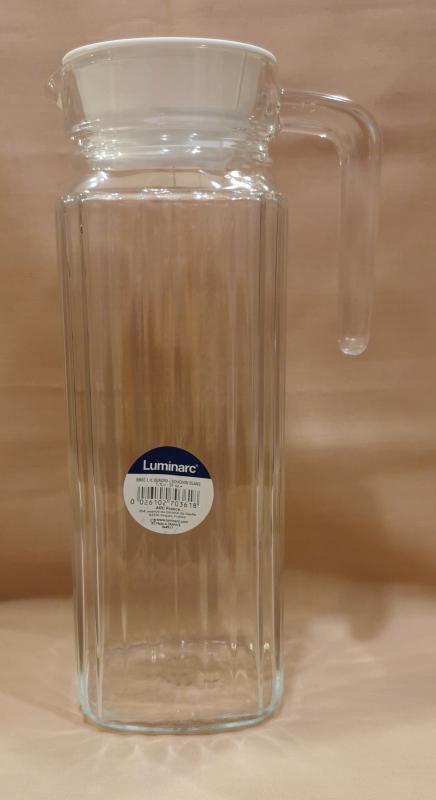 LUMINARC QUADRO hűtőkancsó tetővel, 1,1 liter, 500047
