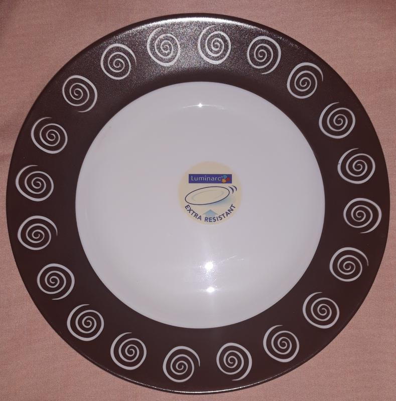 Luminarc Sirocco Brown, mélytányér, 22 cm, 501308