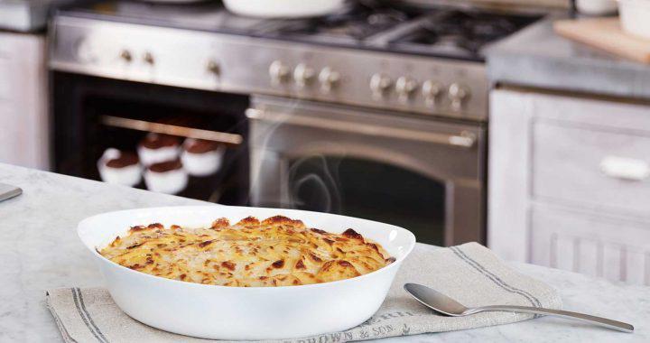 Luminarc Smart Cuisine Carine ovál sütőbe tehető  mély tál, 25X15 cm,