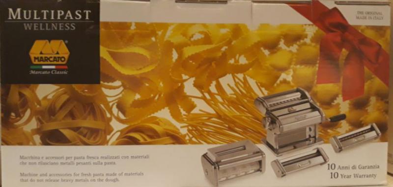 Marcato Multipast Wellness tésztagép csomag, 128022