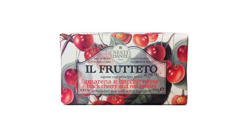 N.D.Il Frutteto, black cherry and red berries szappan 250g