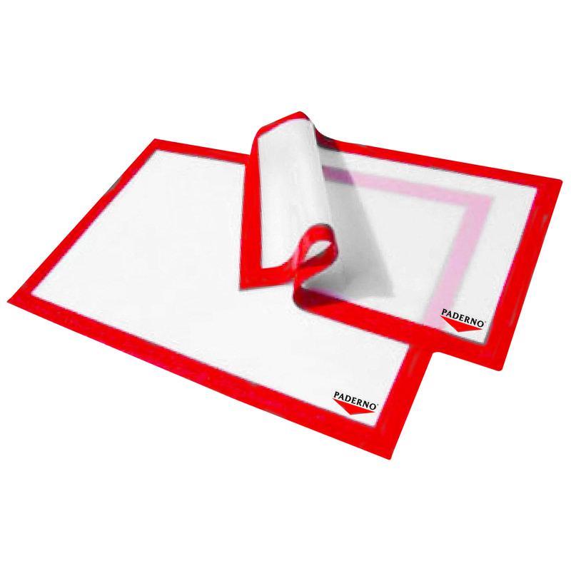 Paderno 47689-53 szilikonos sütőlap, (piros) 53X32,5 cm, 197947
