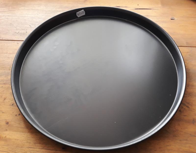 Paderno acél pizzasütő, 40 cm, (2,5cm), 1db, 19799913