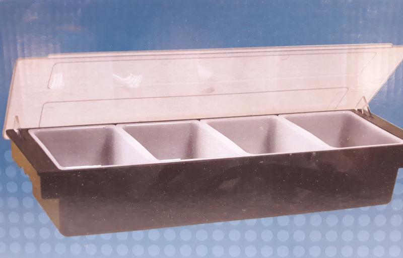 Paderno Buffet bar fűszertartó, 4részes, 49x15cm, 44103-04