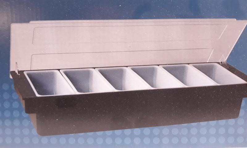 Paderno Buffet bar fűszertartó, 6 részes, 49x15cm, 44103-06