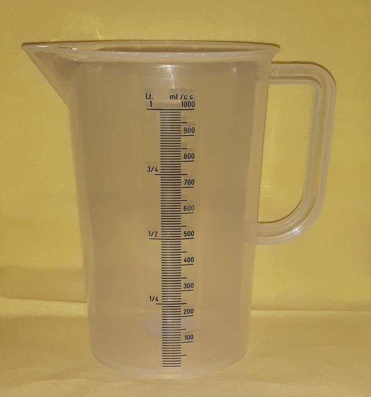 Paderno mérő kancsó, 1 liter, 197291