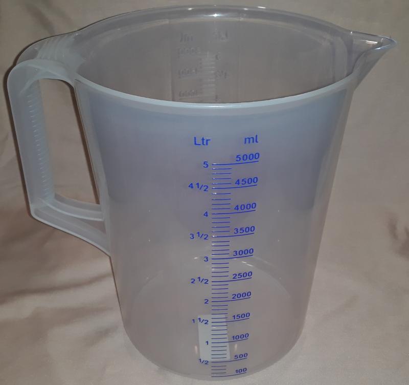 Paderno mérő kancsó, 5 liter, 197818