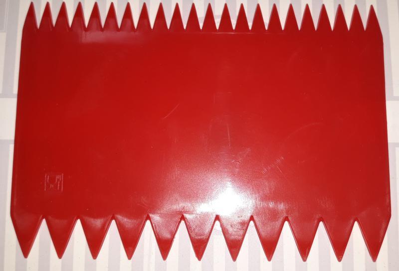 Paderno PP habkártya, recés, 18X7,5 cm,