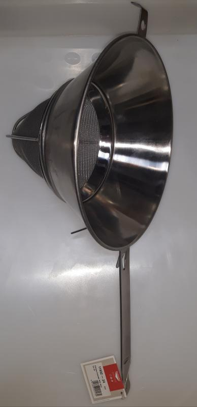 Paderno rozsdamentes kínai szűrő, 24 cm, (protection), 11932-24