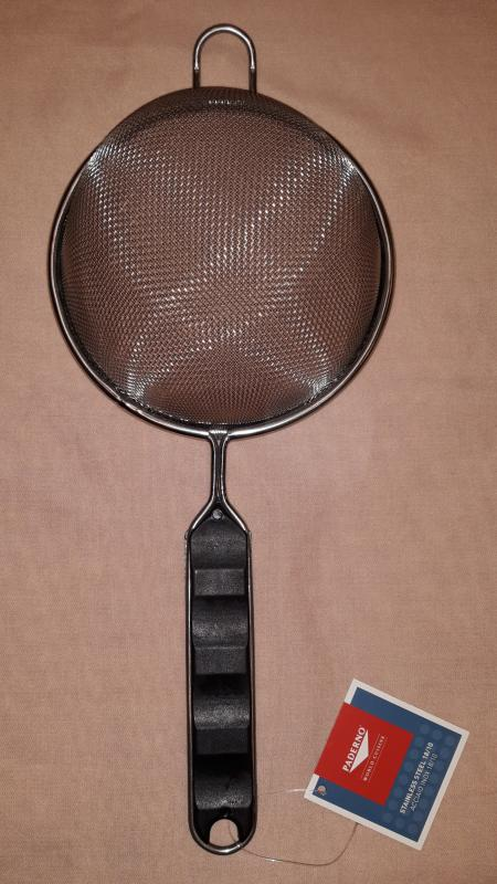 Paderno rozsdamentes szűrő /szitás/, 14 cm, 12622-14