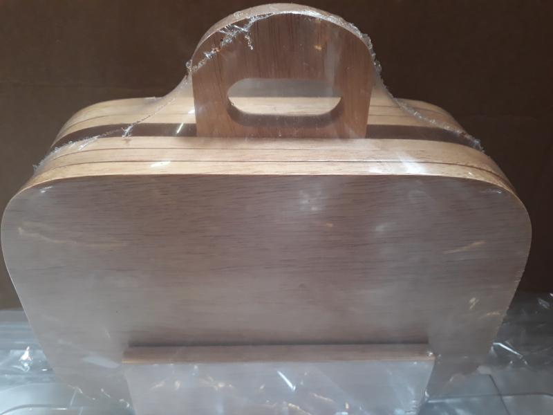 PARAWOOD Fa szalonnázó készlet, fekvő /6 db+állvány/, 208010