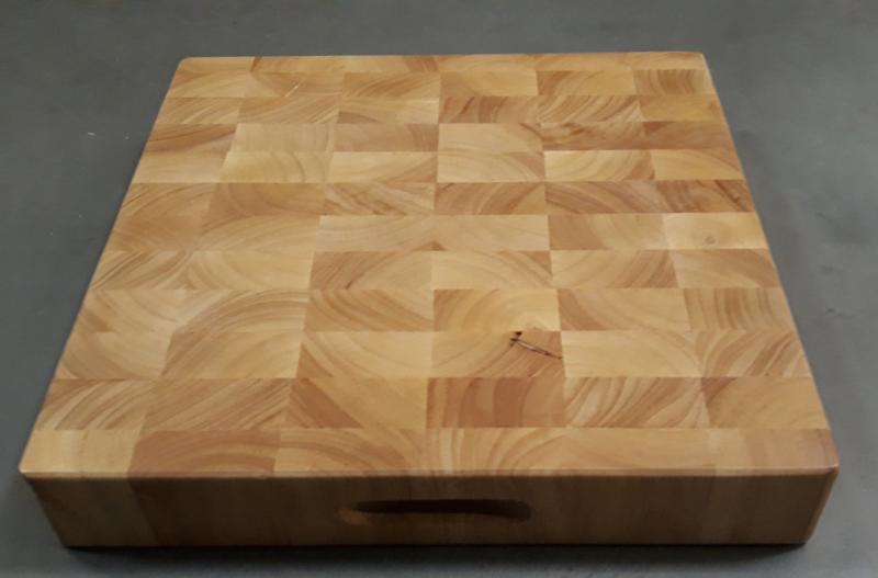 PARAWOOD Fa tőkevágó blokk, 40x40x6,5 cm, 208002