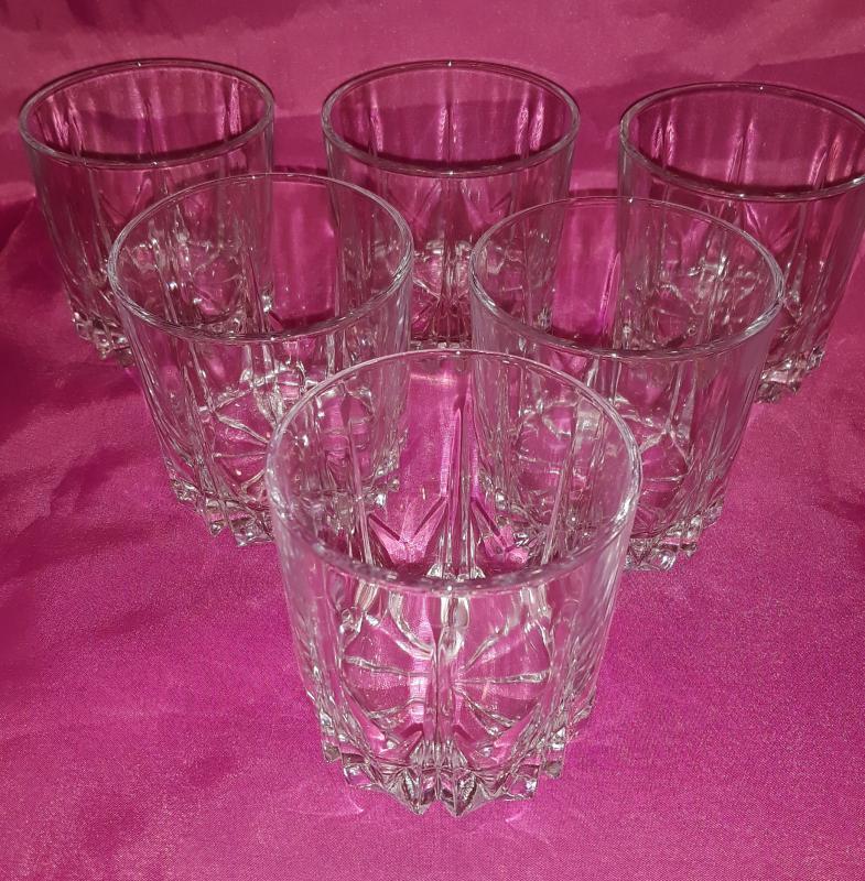 Pasabahce karat likőrös pohár készlet, 6 db, 198 ml, 64304