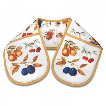 Pimpernel Dupla sütőkesztyű, gyümölcsmintás