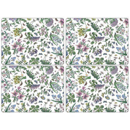 Pimpernel parafa tányéralátét, Botanic Garden Chintz, 40X30 cm, 4 db, 319002