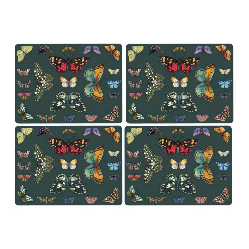 Pimpernel parafa tányéralátét, Botanic garden Harmony, 40X30 cm, 4 db, 319002