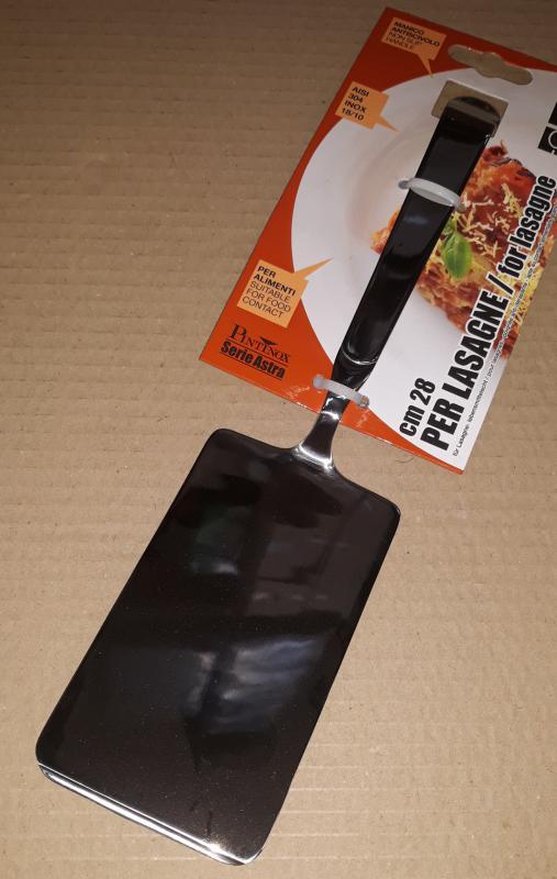 Pintinox Astra rozsdamentes lasagne lapát, 28 cm, 144406