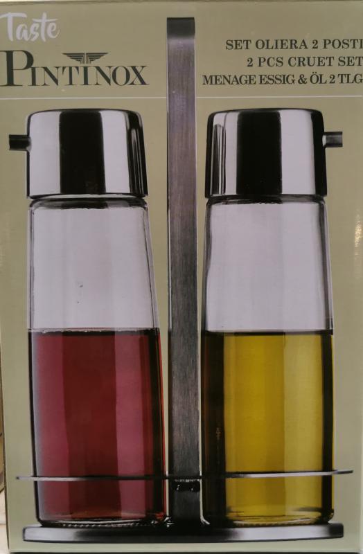 Pintinox Taste rozsdamentes ecet-, olajtartó, 144753