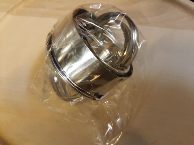 Pogácsaszaggató, 4 db-os szett, (3,5 cm, 4,5 cm, 5 cm és 6 cm), 376001