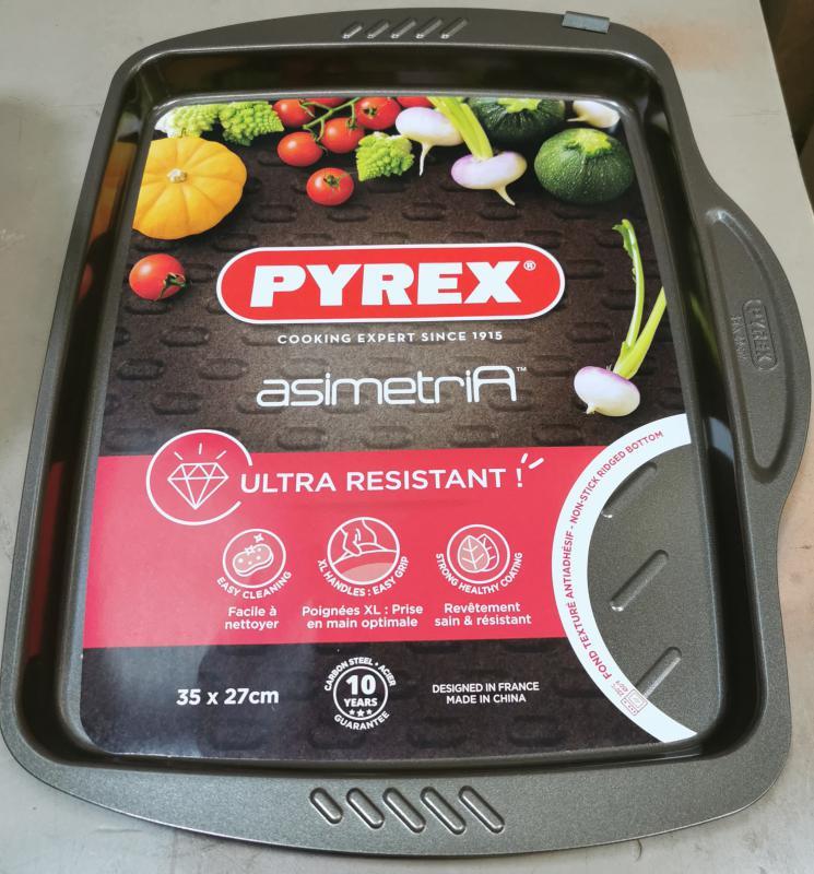Pyrex Asimetria lapos sütőtepsi, 35x27 cm, 203272