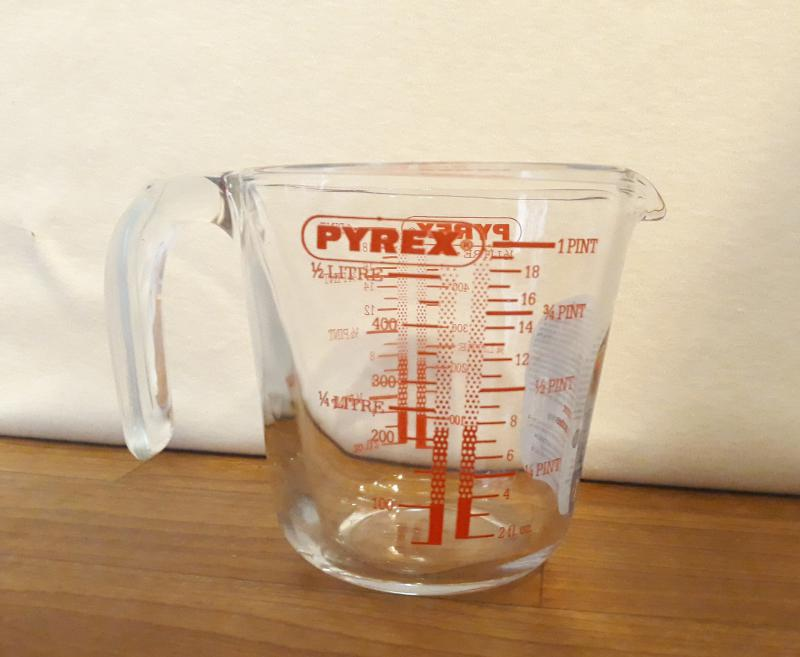 PYREX mércés kancsó, 0,5 liter, 203002