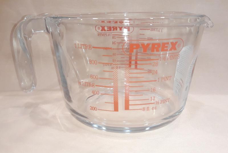PYREX mércés kancsó, 1 liter, 203024