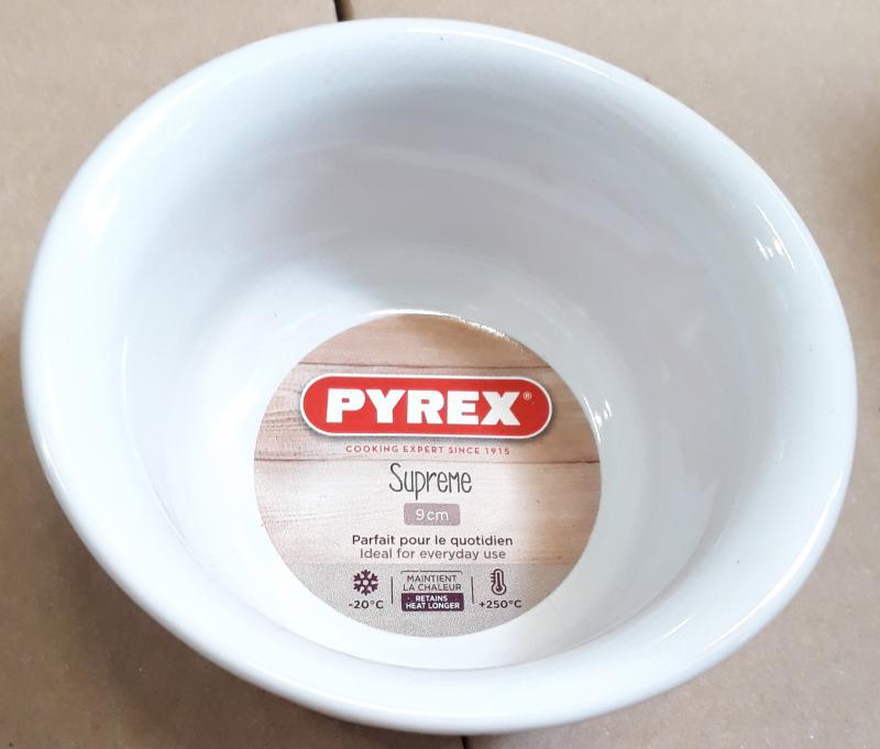 Pyrex Supreme kerámia souffle tálka, 9 cm, 203218