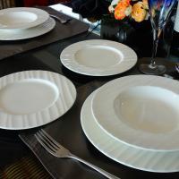 QUALITY CERAMIC HAWAII kerámia étkészlet 18 részes tányérkészlet, 211163